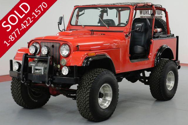 1976 JEEP CJ7 RESTORED. 401 V8! CUSTOM.  WINCH.  UPGRADES.