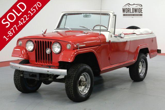 1967 JEEP COMMANDO CONVERTIBLE! DAUNTLESS V6. 4X4. PS PB