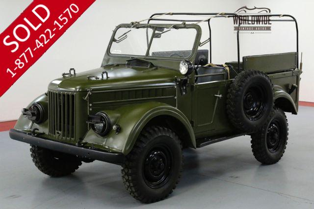 1960 JEEP GAZ 69 175 MILES! COLLECTOR MUSEUM PIECE. ULTRA RARE