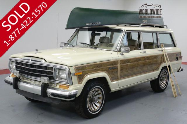 1989 JEEP GRAND WAGONEER 83K ORIGINAL MILES. TIME CAPSULE. MUST SEE!