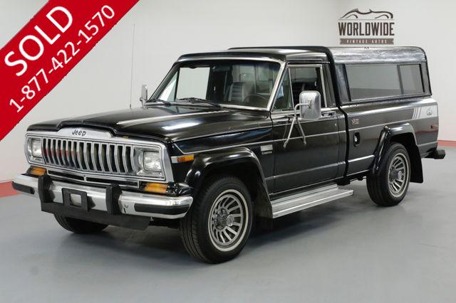 1984 JEEP J10 ONE OWNER V8 AC TIME CAPSULE COLLECTOR 4X4