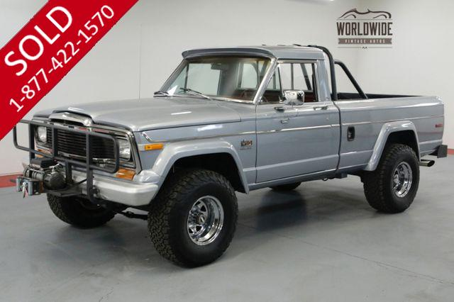 1979 JEEP J10 RARE SHORT BED 360 V8 LIFTED PS PB RARE 4x4.