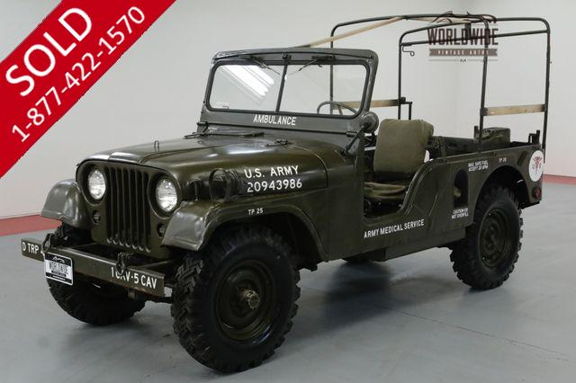 1954 JEEP M170 RARE LONG WHEEL BASE REBUILT DRIVE-TRAIN 4x4