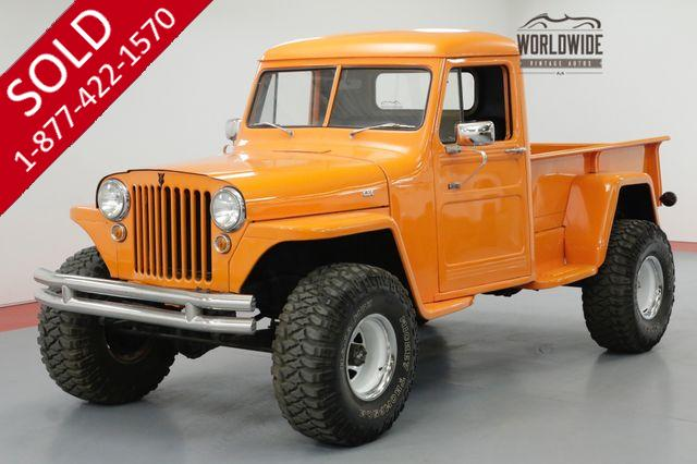 1948 JEEP WILLYS RESTORED HOT ROD 4X4 350 V8 PS