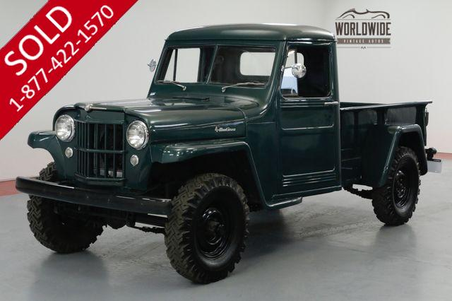 1953 JEEP WILLYS Restored Resto-mod, 350 V8, 4x4, Rare.