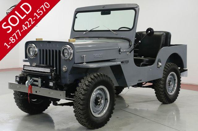 1953 JEEP  WILLYS  FRAME OFF RESTORED $45K+ BUILD 25 MILES 4x4