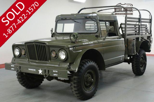 1968 KAISER JEEP M715 STOCK 1 1/4 TON MILITARY ISSUE.