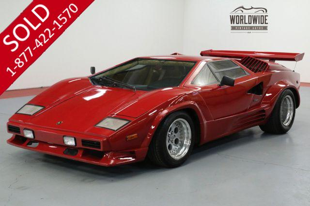 1989 LAMBORGHINI COUNTACH HIGH DOLLAR BUILD. V8! $450K LOOK!  RARE