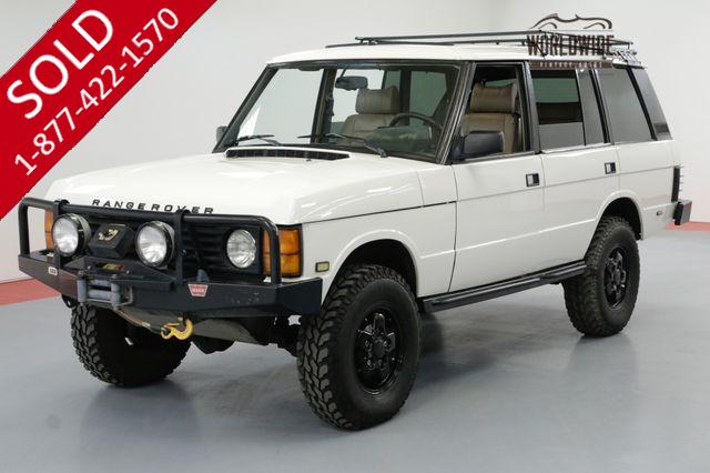 1994 LAND ROVER CLASSIC RR CLASSIC WITH AC LIFTED AND LOW MILES