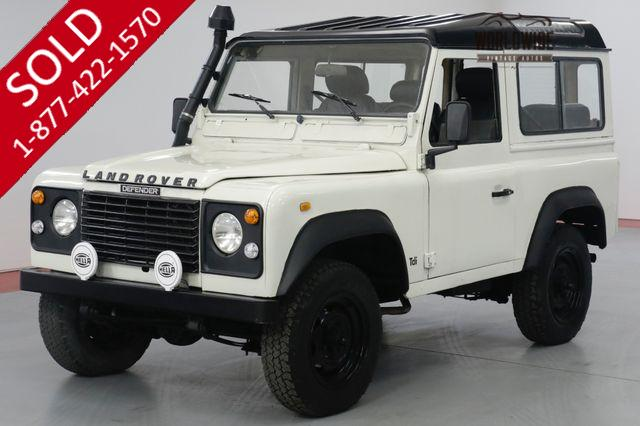 1988 LAND ROVER DEFENDER 90 DIESEL! 5 SPEED. LEFT HAND DRIVE. DRY!