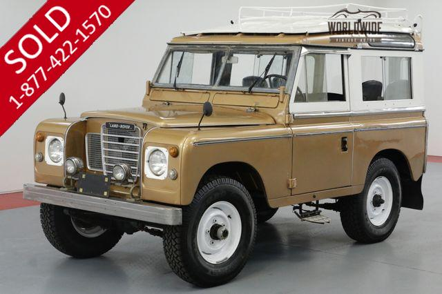 1977 Land Rover SERIES III 300 TDI TURBO. DIESEL! OVERDRIVE! 4X4!
