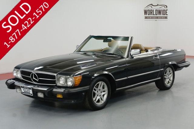 1988 Mercedes-Benz 560 SL  LOADED. TWO TOPS. NEW TIRES WELL MAINTAINED