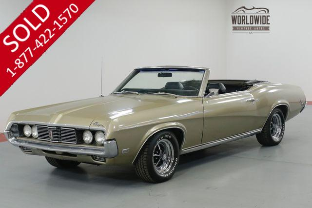 1969 MERCURY COUGAR  4-SPEED! CONVERTIBLE! V8. MUST SEE!