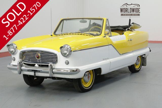 1961 NASH METROPOLITAN  RESTORED CONVERTIBLE! MUST SEE!