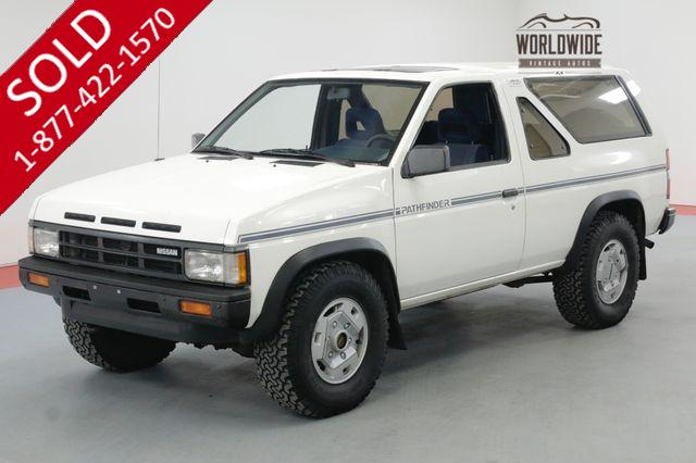 1988 NISSAN PATHFINDER LOW ORIGINAL MILES ONE FAMILY OWNED LOADED