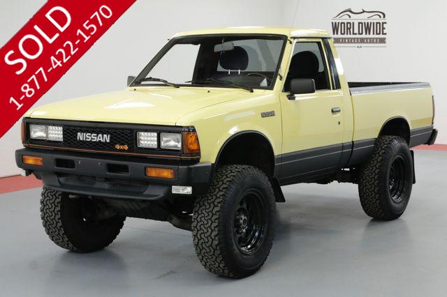 1985 NISSAN PICKUP DATSUN 720 4X4 TONS OF UPGRADES