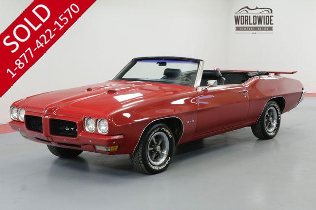 1970 PONTIAC LEMANS V8 AUTOMATIC POWER TOP GREAT COLOR COMBO GTO CLONE