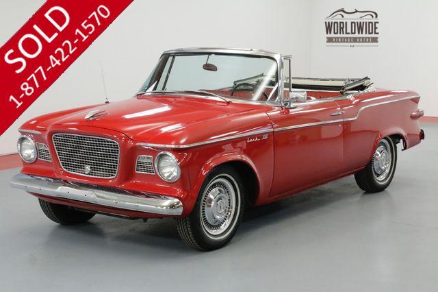 1960 STUDEBAKER LARK CONVERTIBLE V8 HOT ROD! ARIZONA CAR