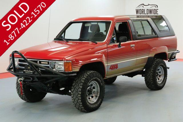 1986 TOYOTA 4RUNNER VINTAGE SUV CONVERTIBLE 4X4 RARE