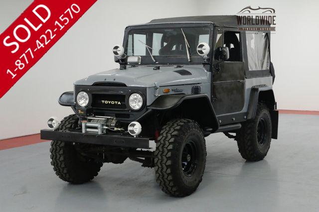 1971 TOYOTA LAND CRUISER FJ40 BUILT. OFF ROAD. 4x4 DISC BRAKES CONVERTIBLE.