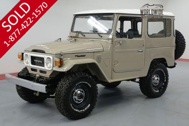 1984 TOYOTA LAND CRUISER  FJ40. FRAME OFF RESTORED. LIFT. BFG TIRES.