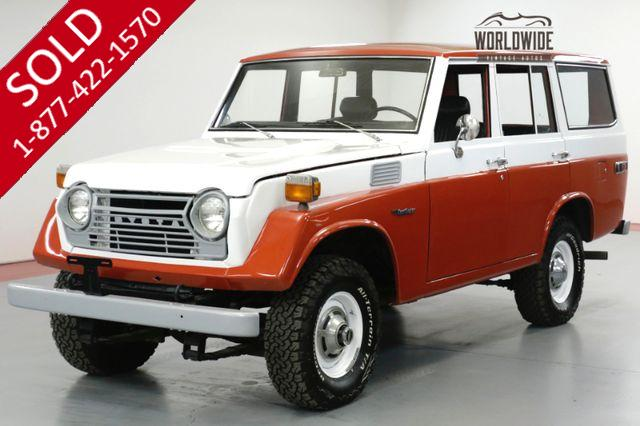 1977 TOYOTA LAND CRUISER  FJ55. RESTORED DRIVER. FACTORY STEEL WHEELS