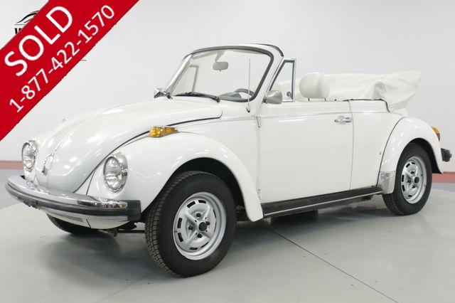 1979 VOLKSWAGEN  BEETLE  BUG CONVERTIBLE 71K MILE KARMANN EDITION