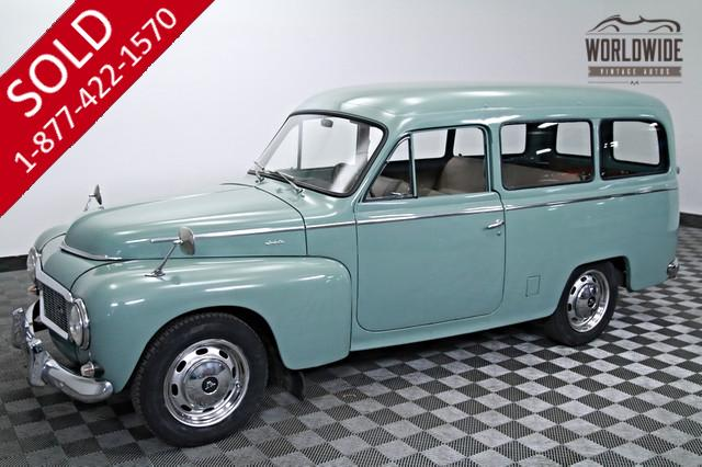 1962 Volvo P210 Wagon Very Rare for Sale