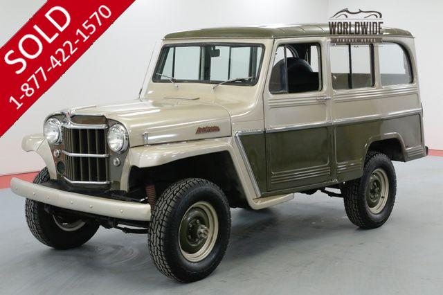 1961 WILLYS WAGON 4X4 RESTORED RARE HURRICANE 6